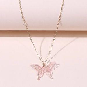 🦋 Butterfly Sparkle Necklace 🦋